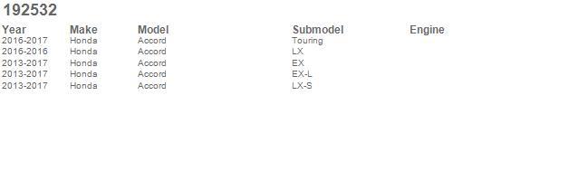 Auto Ventshade AVS 192532 2pc In-Channel Ventvisor for Honda Accord