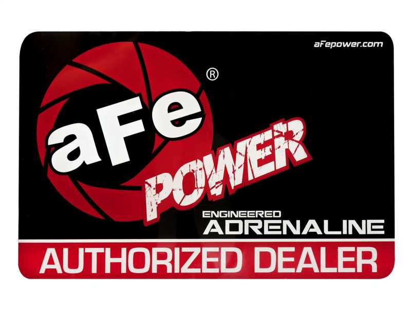 aFe Power Window Cling Decal 40-10080