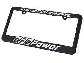 aFe Power License Plate Frame