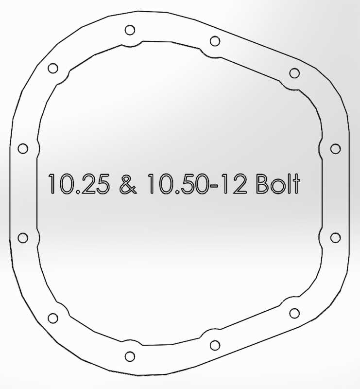 Pro Series Differential Cover 46-70022
