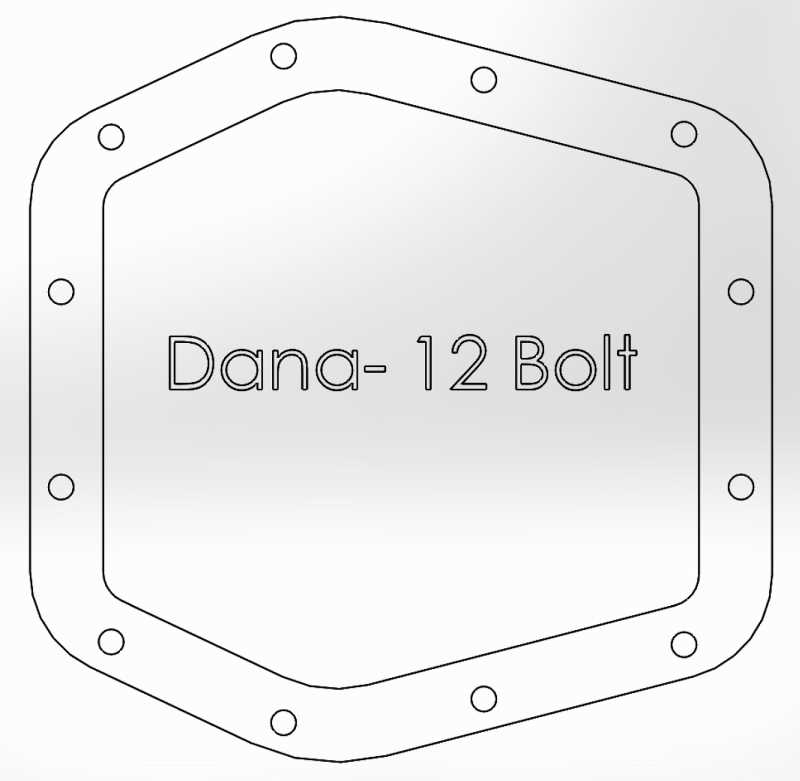 Pro Series Differential Cover 46-70302