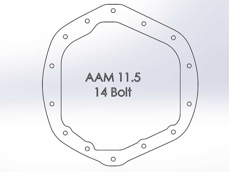 Pro Series Differential Cover 46-70392