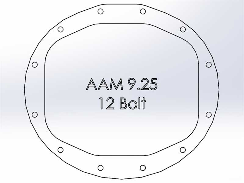 Pro Series Differential Cover 46-70402