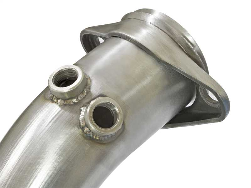Street Series Twisted Steel Down-Pipe 48-33017-HC