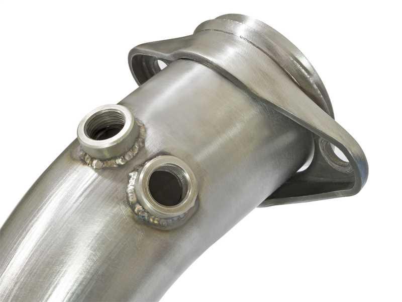 Race Series Twisted Steel Down-Pipe 48-33017-HN