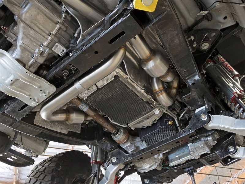 Street Series Twisted Steel Down-Pipe 48-33021-HC