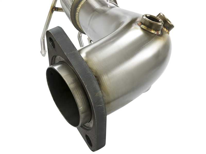 Race Series Twisted Steel Down-Pipe 48-33024-HN