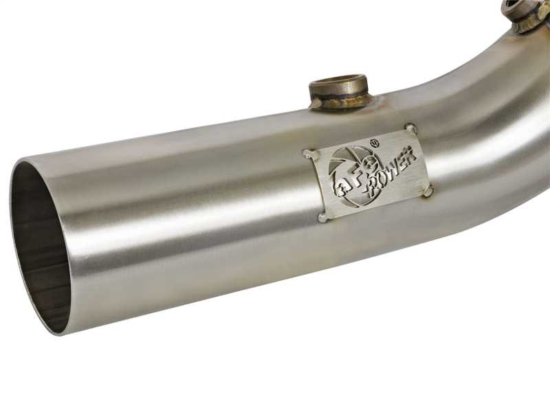 Street Series Twisted Steel Down-Pipe 48-34128-HC