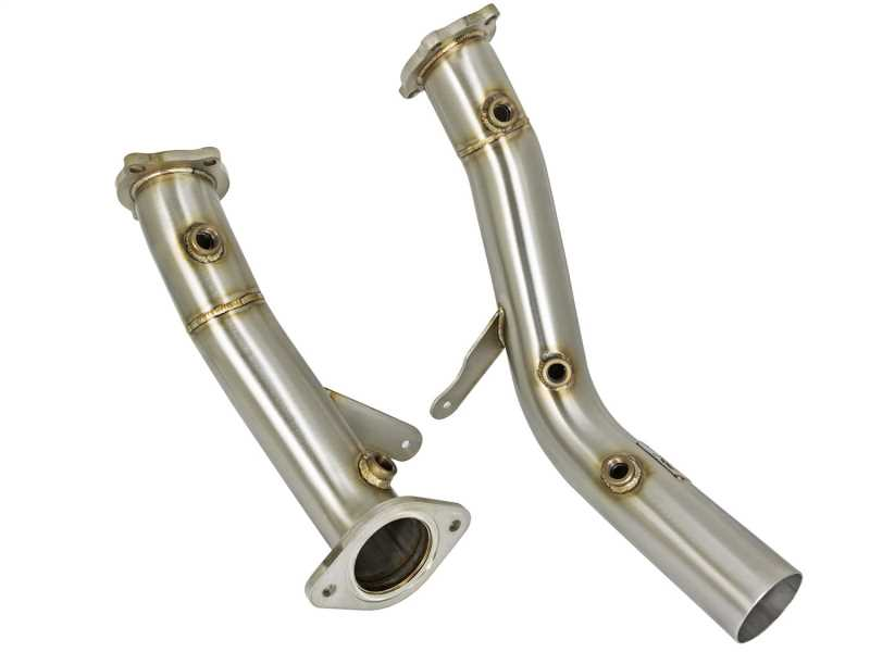 Race Series Twisted Steel Down-Pipe 48-34128-HN