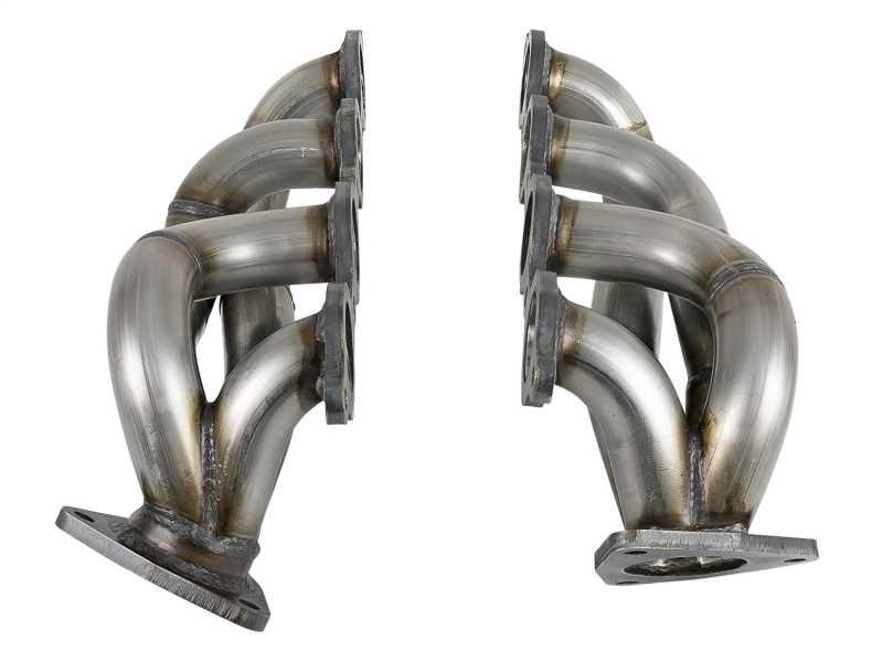 Twisted Steel Stainless Steel Headers 48-34134