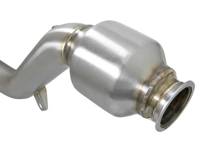 Street Series Twisted Steel Down-Pipe 48-36110-HC