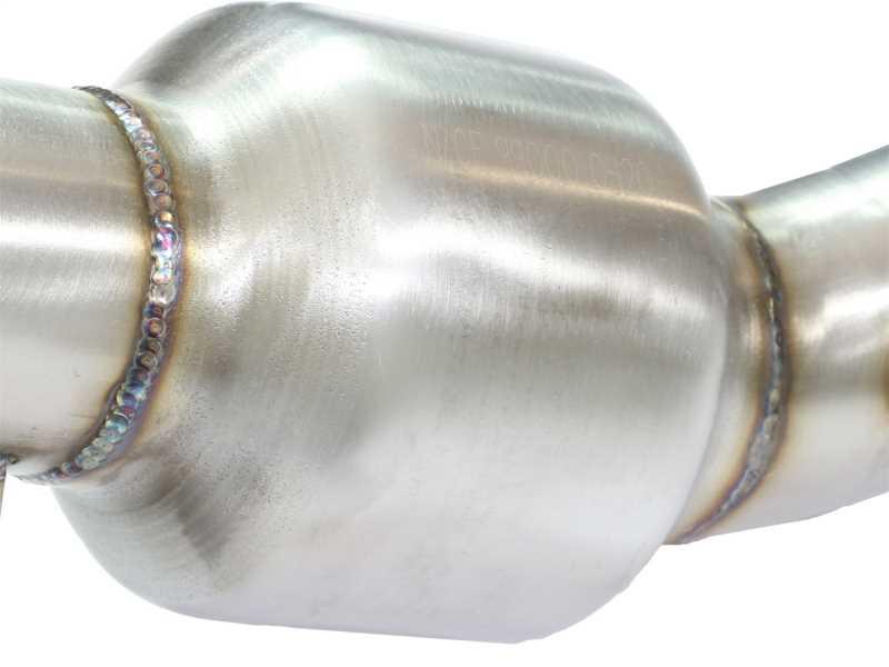 Street Series Twisted Steel Mid-Pipe 48-36112-RC