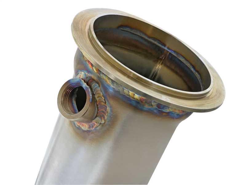Street Series Twisted Steel Down-Pipe 48-36312-1