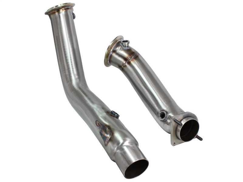 Race Series Twisted Steel Down-Pipe 48-36313