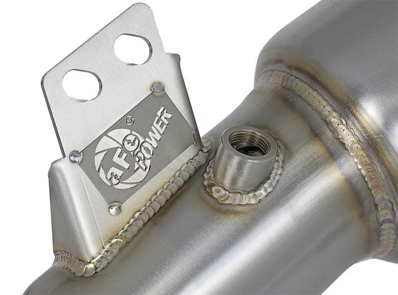 Street Series Twisted Steel Down-Pipe 48-36317-HC