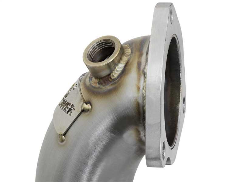Street Series Twisted Steel Down-Pipe 48-36318-HC