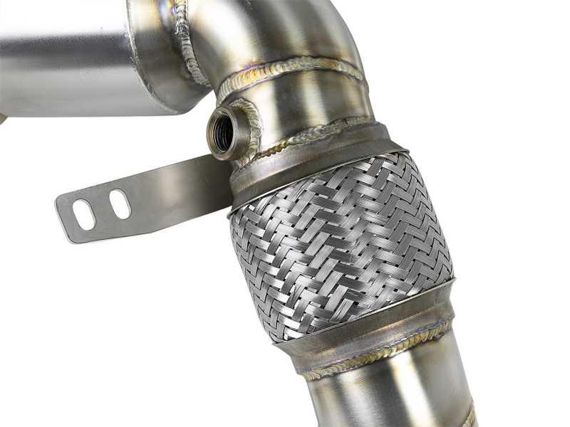 Street Series Twisted Steel Down-Pipe 48-36321-HC
