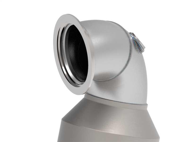 Street Series Twisted Steel Down-Pipe 48-36408-YC