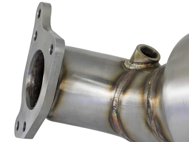 Street Series Twisted Steel Down-Pipe 48-36604-HC