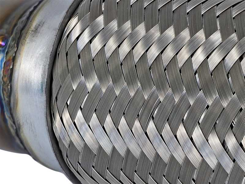 Twisted Steel Down-Pipe/Mid-Pipe 48-36605