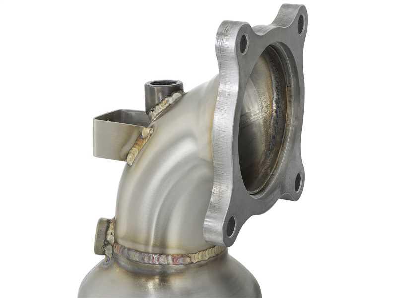 Street Series Twisted Steel Down-Pipe 48-36606-HC
