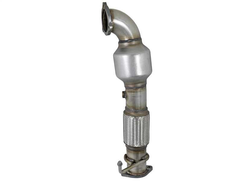 Street Series Twisted Steel Down-Pipe 48-37001-HC