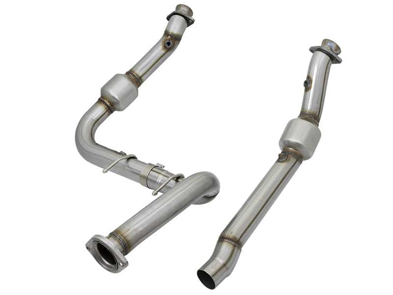Street Series Twisted Steel Down-Pipe 48-43020-HC