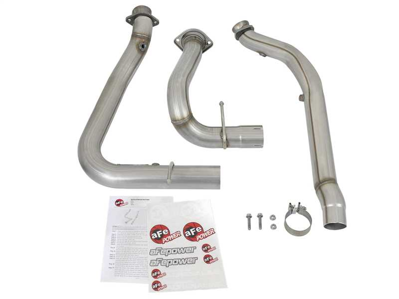 Race Series Twisted Steel Down-Pipe 48-43020-HN