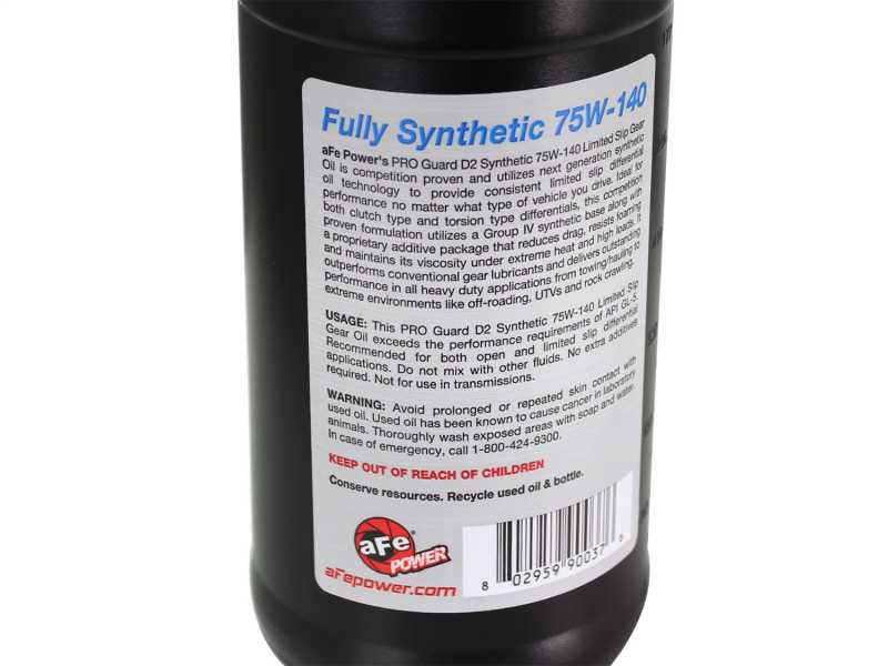 Pro GUARD D2 Synthetic Gear Oil 90-20112