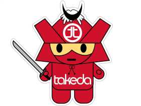 Takeda Mascot Decal