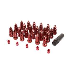 Bullet Lug Nut and Valve Stem Cap Kit