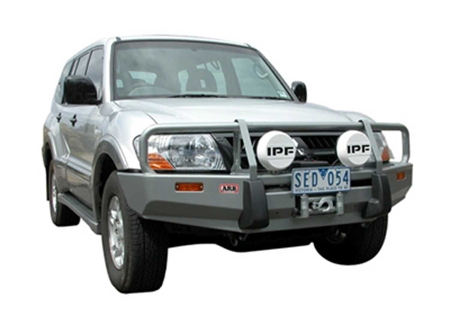 3434060 Arb 4x4 Accessories Front Deluxe Bull Bar Winch Mount Bumper 3434060