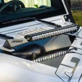 Hood Light Bar w/Brackets