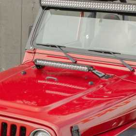 Hood Light Bar w/Brackets 1501302