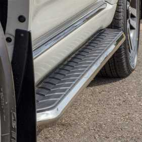AeroTread Running Boards w/Mounting Brackets
