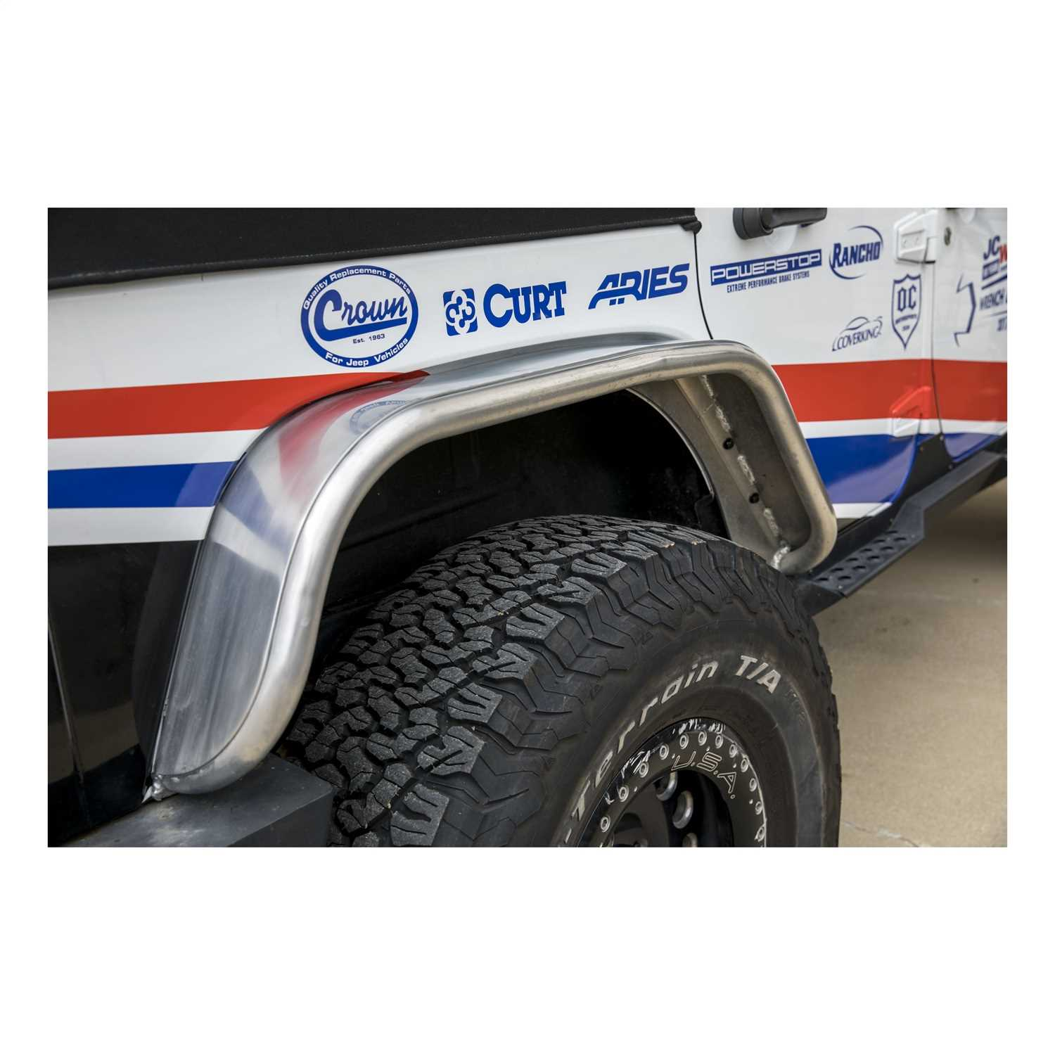 Fender Flares Auto Outfitters Installing Jeep Vehicle Fitment View Guide
