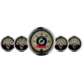 Cruiser™ 5 Gauge Set Fuel/Oil/Speedo/Volt/Water