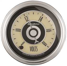 Cruiser™ AD Voltmeter Gauge