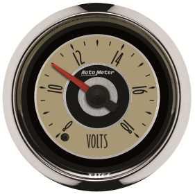 Cruiser™ Voltmeter Gauge