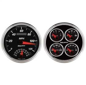 Designer Black II™ Quad Gauge/Tach/Speedo Kit