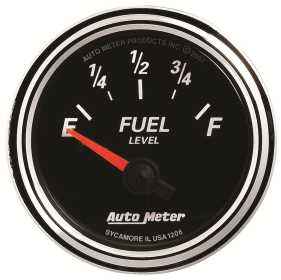 Designer Black II™ Fuel Level Gauge