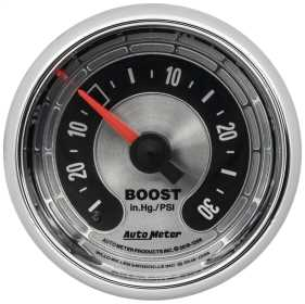 American Muscle™ Mechanical Boost/Vacuum Gauge