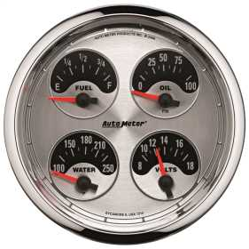 American Muscle™ Quad Gauge