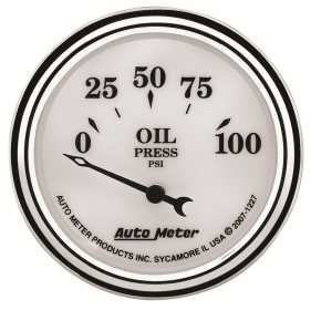 Old Tyme White II™ Oil Pressure Gauge