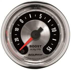 American Muscle™ Boost/Vacuum Gauge