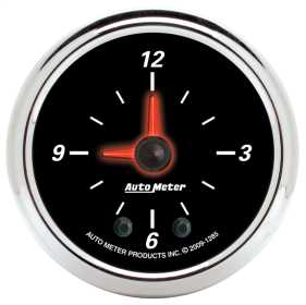 Designer Black II™ Clock