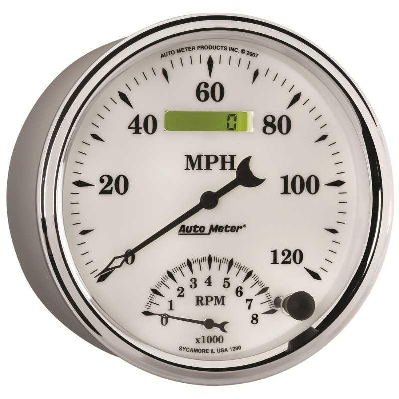 Old Tyme White II™ Tach/Speedo Combo 1290