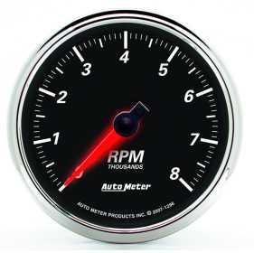 Designer Black II™ Tachometer Gauge