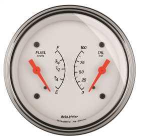 Arctic White™ Oil/Fuel Dual Gauge