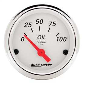 Arctic White™ Oil Pressure Gauge